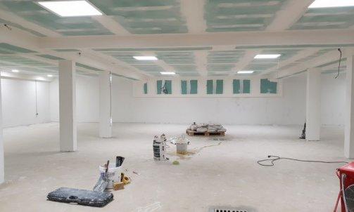 Peinture garage Meribel
